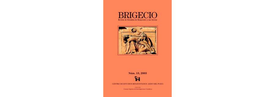 BRIGECIO. Revista de Estudios de Benavente y sus Tierras, 13 (2003)